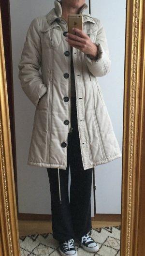 Winter-Mantel/-Jacke Zara Gr.M beige