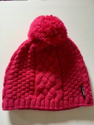 Steffner Gorro tejido rosa