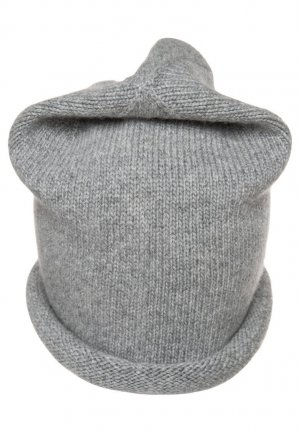 Beanie silver-colored-light grey