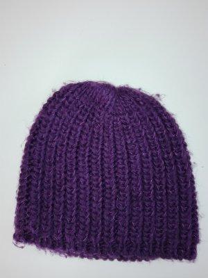 Cappellino marrone-viola