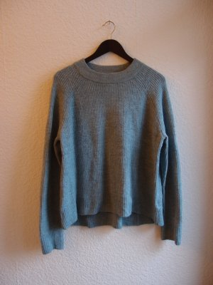 WINTER SALE - Hellblauer warmer Strickpullover