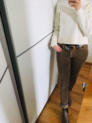 H&M Divided Pantalon en velours côtelé multicolore
