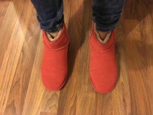 Zapatos salmón Piel