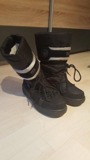 Winter Snow Boots Schwarz Gr. 38