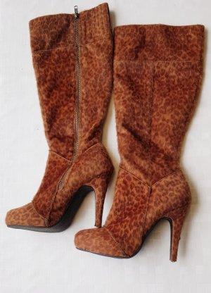 High Heel Boots light brown
