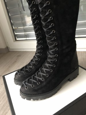 Winter Stiefel aus Leder