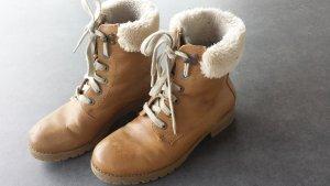 Winter Stiefeletten Boots gefüttert 39