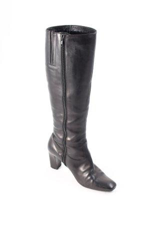 Winter-Stiefeletten schwarz Elegant