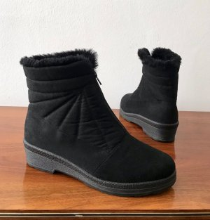 ◉ Winter Stiefeletten wasserfest Schafwollfutter ◉