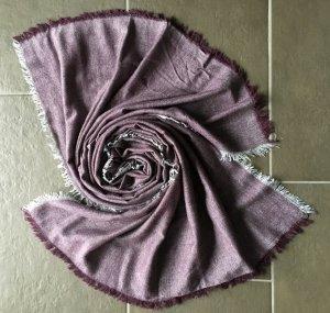 Winter Tuch mit Silber Fäden