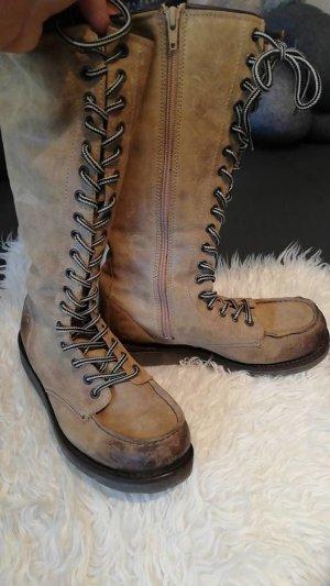 Bronx Winter Boots camel