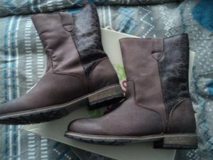 Winterboots Apple of eden Gr40 braun/leo neu!