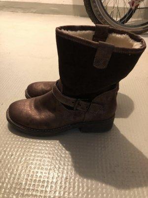 Deichmann Bottes de neige brun-bronze