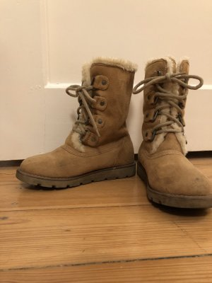 Winterboots Ethno-Muster