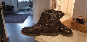 Tom Tailor Winter Boots black