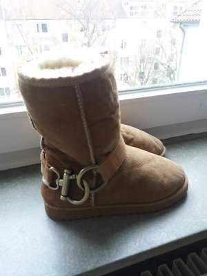 Winterboots in Camelfarben wie UGG v. Love from Australia Gr. 37