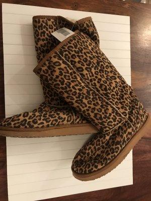 Winterboots Leopard