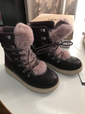 UGG Fur Boots multicolored fur