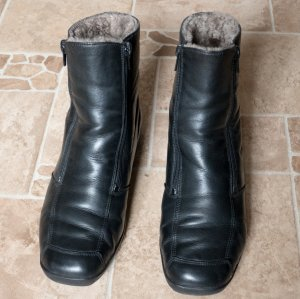 Remonte Low boot noir cuir