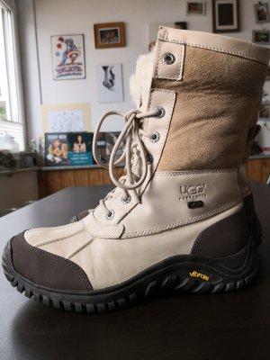 UGG Australia High Boots brown-cream