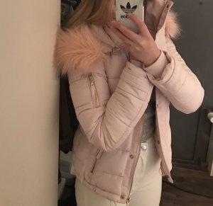 Pimkie Winter Jacket light pink-pink cotton