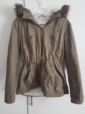 b.p.c. Bonprix Collection Winter Jacket green grey
