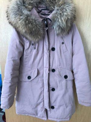 Jumex Manteau à capuche or rose