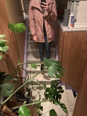 Primark Chaqueta de invierno color rosa dorado-blanco