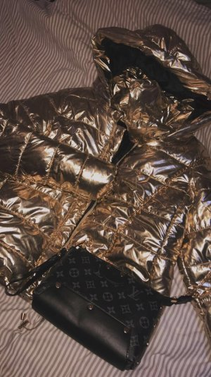 Outdoor Jacket gold-colored