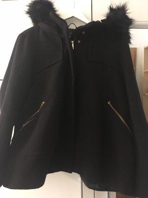 Zara Chaqueta de invierno negro