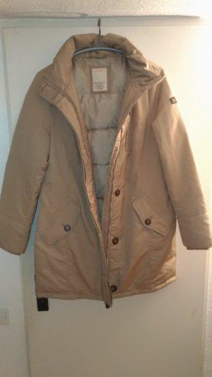 Esprit Manteau en duvet beige clair