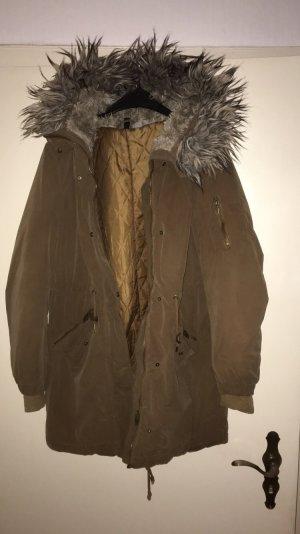 Chaqueta de invierno marrón