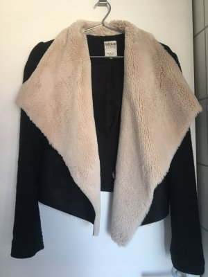 Zara Trafaluc Giacca di pelliccia multicolore
