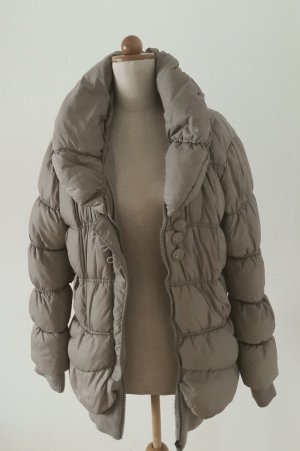 Silvian heach Quilted Jacket gold-colored synthetic fibre