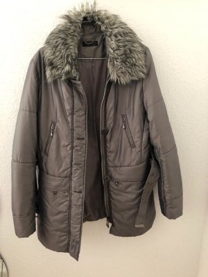 Apanage Winter Jacket silver-colored-grey