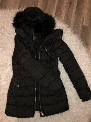 Zara Woman Winterjack zwart
