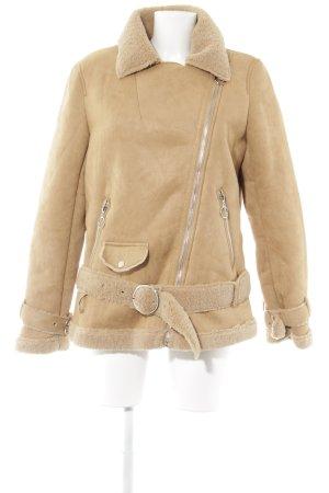Winterjacke beige Casual-Look