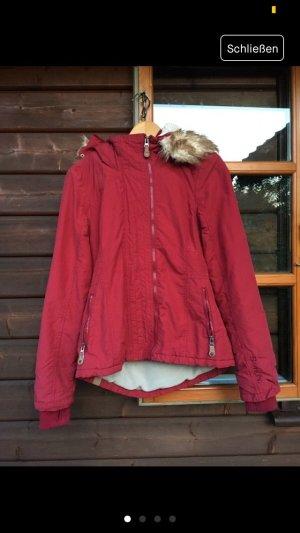 Bench Winter Jacket dark red-carmine