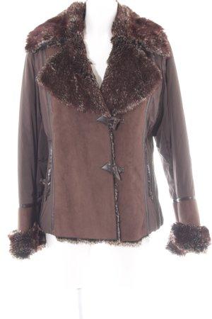 Winter Jacket brown fluffy