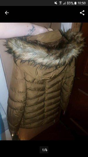 Winterjacke Braun mit Fell Größe L