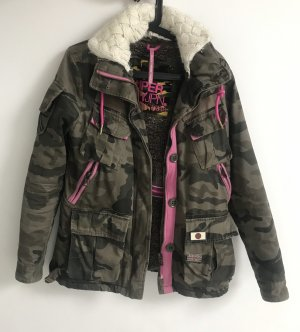 Superdry Military Jacket multicolored cotton