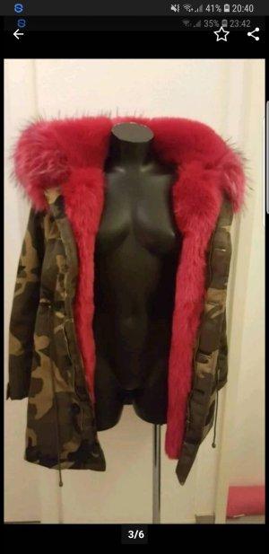 Winterjacke Camouflage Look gr.S/M