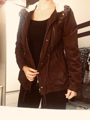 H&M Divided Winter Jacket bordeaux
