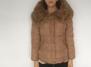 Attentif Fur Jacket multicolored