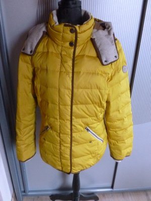 Winterjacke Daunenjacke gelb s.Oliver