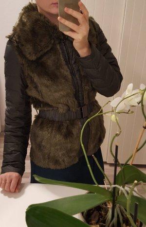 Winterjacke Daunenjacke Jacke mit Kunstfell Leichte Jacke von Laura Scott.
