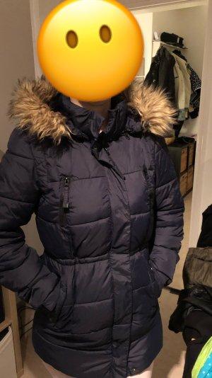 Winterjacke dunkelblau / Mantel / Jacke / Winter