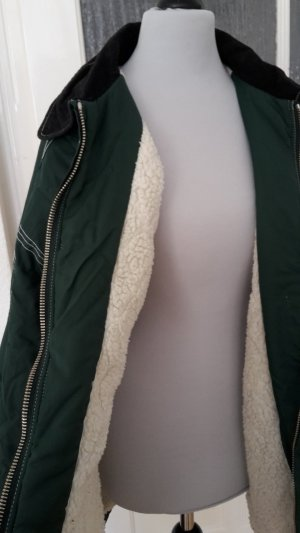 Oversized Jacket green-black