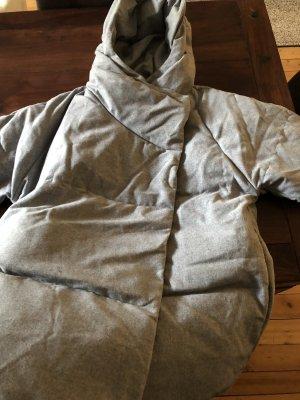 Mango Winter Jacket light grey