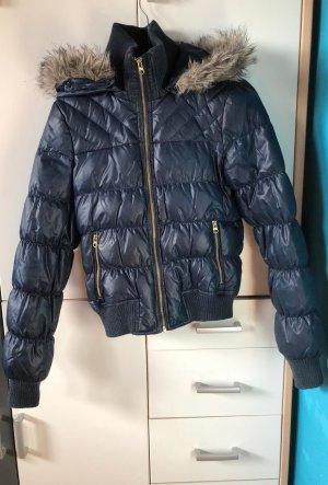 Vero Moda Veste d'hiver bleu foncé